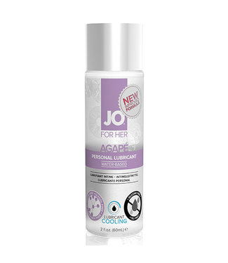 System JO System JO - For Her Agape Glijmiddel Koel 60 ml