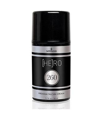 Sensuva Sensuva - HE(RO) 260 Talkpoeder Creme voor Mannen 50 ml
