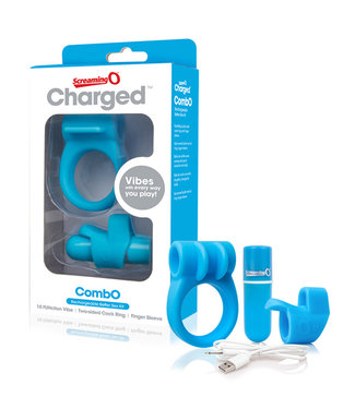 The Screaming O The Screaming O - Charged CombO Kit #1 Blauw