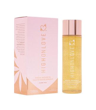 HighOnLove HighOnLove - Massage Olie Aardbei & Champagne 120 ml