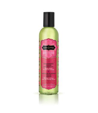 Kama Sutra Kama Sutra - Naturals Massage Olie Aardbei 236 ml