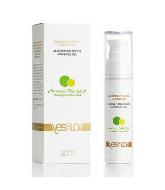 YESforLOV YESforLOV - Allover Delicious Massage Gel Pineapple Green Tea