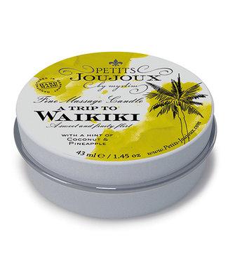 Petits Joujoux Petits Joujoux - Massagekaars Waikiki 33 gram