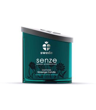 Swede Swede - Senze Massagekaars Soothing Munt Roos Sinaasappel 150 ml