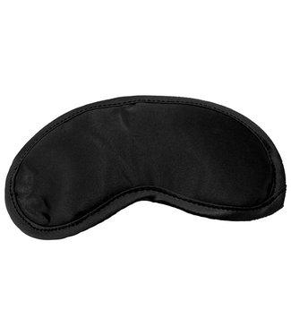 Sex & Mischief S&M - Satijnen Blinddoek Zwart