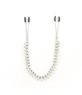Sportsheets Sportsheets - Sincerely Pearl Chain Nipple Clips