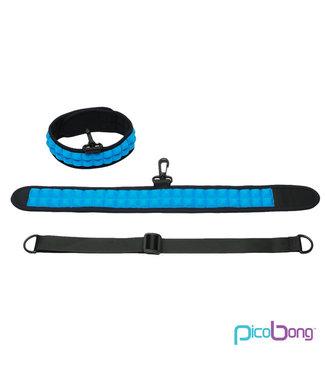 PicoBong PicoBong - Speak No Evil Choker Blauw