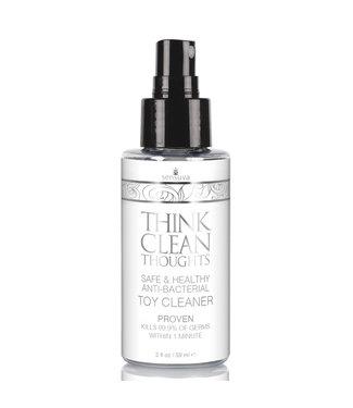 Sensuva Sensuva - Think Clean Thoughts Antibacteriele Speeltjes Reiniger 59 ml
