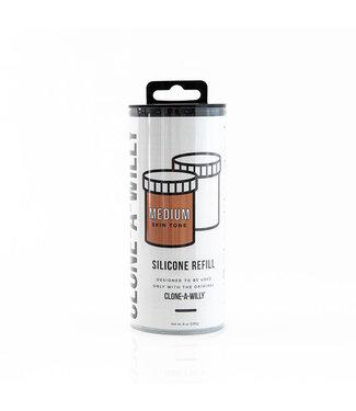 Clone-A-Willy Clone-A-Willy - Refill Medium Lichte Huidskleur Siliconen