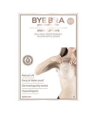 Bye Bra Bye Bra - Borst Lift & Siliconen Tepel Covers A-C 4 Paar