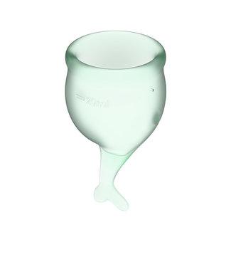 Satisfyer Satisfyer - Feel Secure Menstruatie Cup Set Lichtgroen