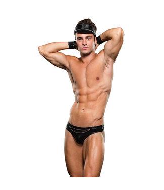 ENVY Envy - Biker Bikini Bottom/Cuff/Hat 3 Pc M/L