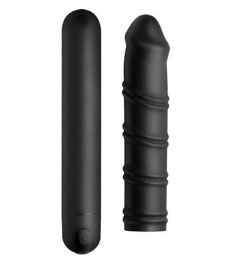 Bang! Bang! Swirl XL Bullet Met Afneembare Sleeve