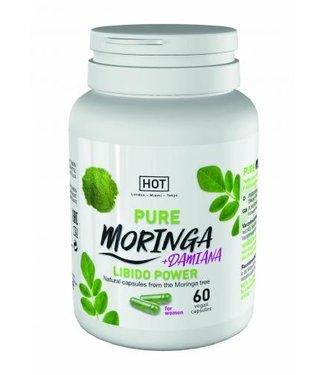 HOT HOT BIO - Moringa Vrouw Libido Power Capsules - 60 St.