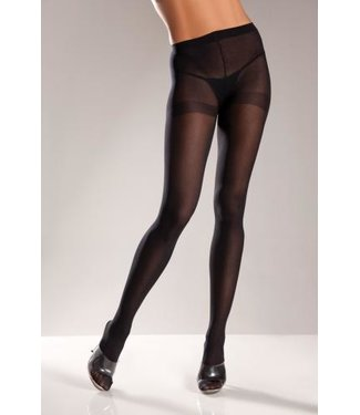 Be Wicked Opaque Panty - Black