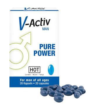 HOT HOT V-Activ Pure Power Voor Mannen - 20 stuks