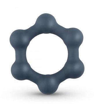 Boners Boners Hexagon Cockring Met Stalen Kogels