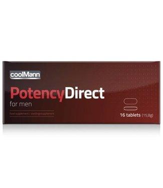 Coolmann CoolMann - PotencyDirect Potentie Pillen - 16 stuks