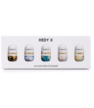 Svakom Svakom - Hedy X Masturbator 5-pack Mixed Textures