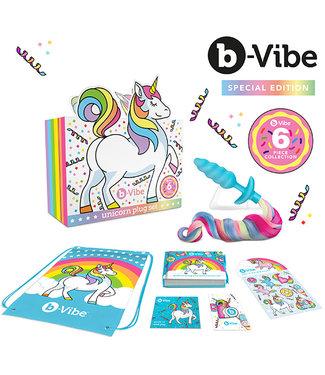 B-Vibe B-Vibe - Eenhoorn Plug Set 6 Stuks Collectie