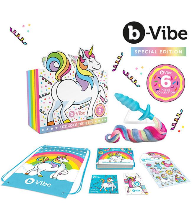 B-Vibe - Eenhoorn Plug Set 6 Stuks Collectie