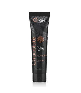 Orgie Orgie - Lube Tube Intieme Gel met Smaak Chocolade 100 ml