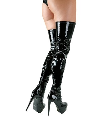 Cottelli Collection Thigh-high, Vinyl Boots