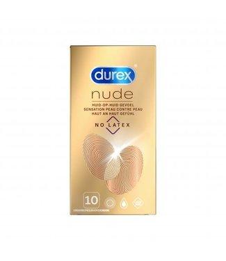 Durex Durex Nude No Latex - 10 Stuks