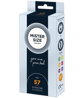 Mister Size MISTER.SIZE 57 mm Condooms 10 stuks