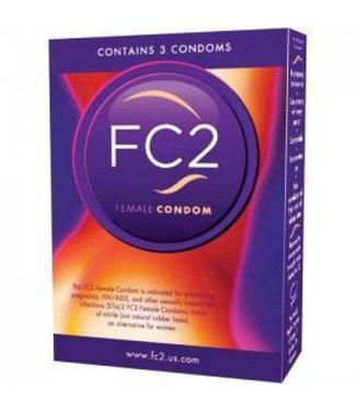 Asha International FC2 Vrouwen Condooms - 3 stuks
