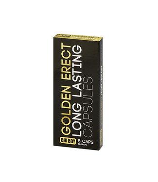 Big Boy Golden Erectie Pillen - 8 stuks