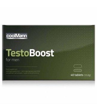 Coolmann CoolMann - Testoboost - 40 stuks