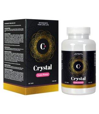 Morningstar Crystal - Testo Power Testosteron Verhogende Tabletten - 60 st