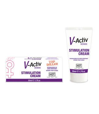 HOT HOT V-Activ Stimulerende Crème Voor Vrouwen - 50 ml