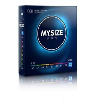 My.Size MY.SIZE Pro 72 mm Condooms 3 stuks