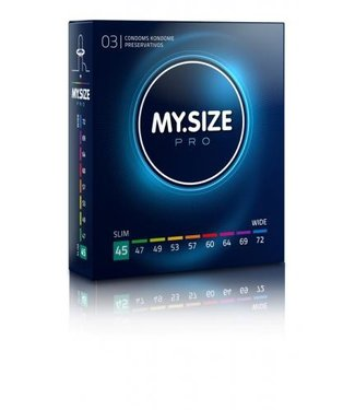 My.Size MY.SIZE Pro 45 mm Condooms 3 stuks