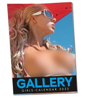 You2Toys Pin-up Kalender Soft Gallery Girls 2022
