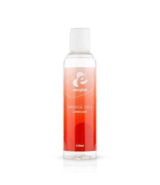 EasyGlide EasyGlide - 2 in 1 Massage Glijmiddel Op Waterbasis - 150 ml