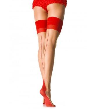 Leg Avenue Sheer 2 Tone Stockings O/S