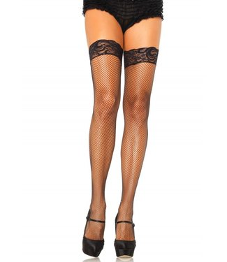 Leg Avenue Stay Up Fishnet Thigh Highs O/S