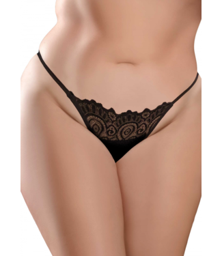 HookUp Pantys By Pipedream Remote Lace Peek-a-Boo +Size