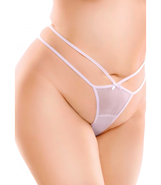 HookUp Pantys By Pipedream Remote Bow-Tie G-String +Size