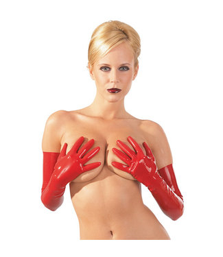 The Latex Collection Latex Gloves - Red