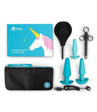 B-Vibe B-Vibe - Anaal Training & Educatie Set Blauw