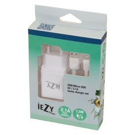 Levica Iezy-charger set USB/Micro US 5V/21A