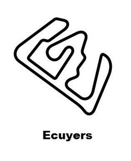 Ecuyers circuit sticker