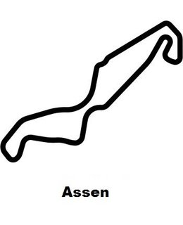 Assen circuit sticker