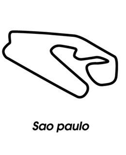Sao Paulo circuit sticker