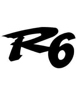 R6 logo sticker