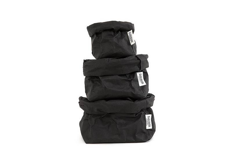 Uashmama Paper Bag Small zwart